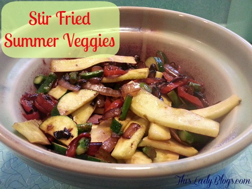 Summer Stir-Fry Recipe — Dishmaps