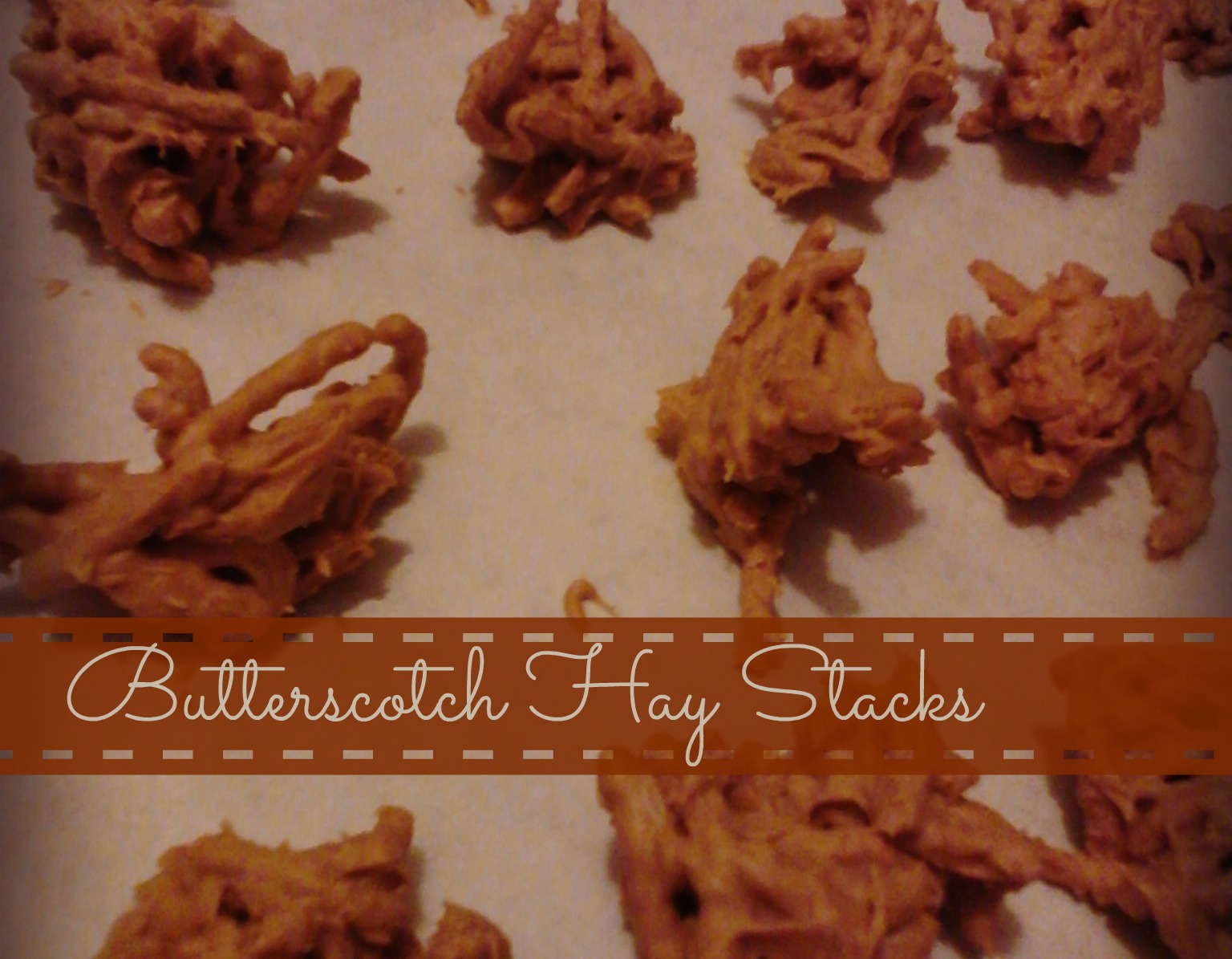 Butterscotch Hay Stacks