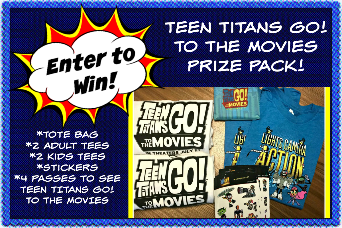 Win a Teen Titans Go! To The Movies Prize Pack image